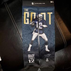 NWT Patriots Tom Brady Socks